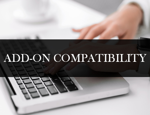 Add on compatibility